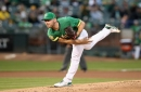 A's lose to Angels, cry foul over potential fan interference