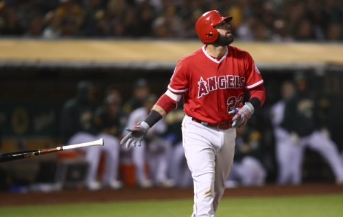 Kaleb Cowart's grand slam leads Angels to comeback victory over A's