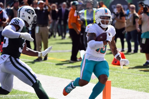 The Miami Dolphins' new look receiving corps has given the team new life
