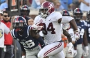Graphing the Tide: Player Graphs vs. Ole Miss — Hello, Damien Harris