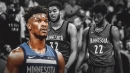 Jimmy Butler's trade request doesn't have to do with Karl-Anthony Towns, Andrew Wiggins