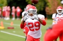Eric Berry held out of practice again on Wednesday