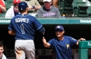 Rays 9, Rangers 3: The bats stayed hot on a steamy Texas day