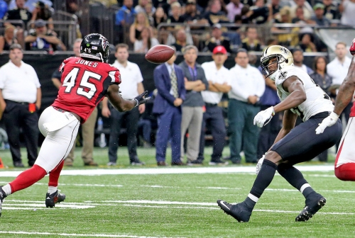 Drew Brees to face Falcons 'D' that doesn't have Deion Jones among 2 injured Pro Bowlers