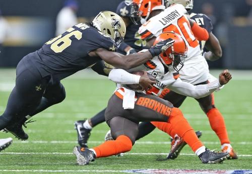 Saints see positive results after tweaking linebacker usage in Week 2