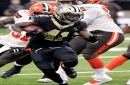 Battle of Saints, Falcons backfields might be down to just Alvin Kamara and Tevin Coleman this week