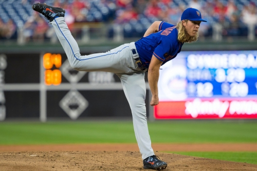 Noah Syndergaard struggles against Phillies continue in Mets loss