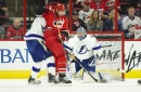 Recap: Hurricanes sweep home and home in 6-1 romp over Lightning