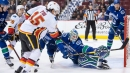 Fresh-faced Flames team posts victory over Canucks