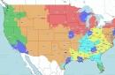 Broncos at Ravens: TV broadcast map (CBS)