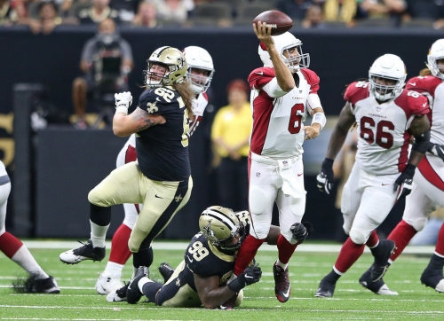Defensive tackle Jay Bromley grateful to be back with Saints
