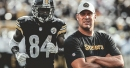Steelers' Ben Roethlisberger not worried about Antonio Brown's slow start