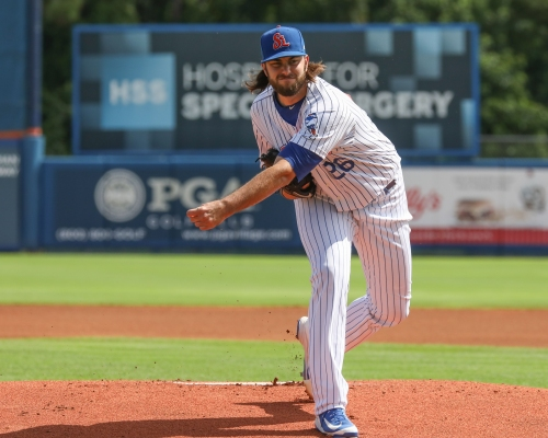 David Peterson finishes strong in first full season in NY Mets system
