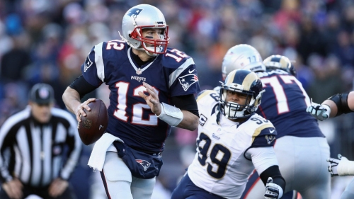 Rams pass Patriots for best odds to win Super Bowl