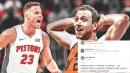 Joe Ingles, Blake Griffin troll each other on Twitter