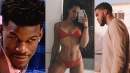 Karl-Anthony Towns reacts to insane dug up evidence that Jimmy Butler hooked up with his girlfriend, Kawahine Andrade