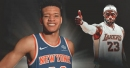 Kevin Knox hopeful Knicks can claim 8th playoff spot with LeBron James out East