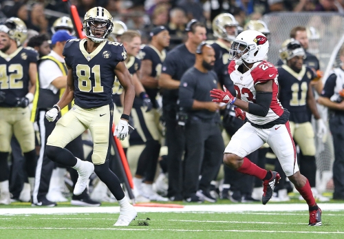 Saints' Cameron Meredith excited by possibility of playing in Week 3