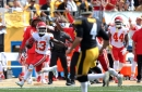 Take another look at the De'Anthony Thomas punt return against the Steelers — it was a trick play