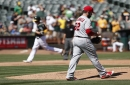 Angels suffer worst loss in franchise history, after rough start by Matt Shoemaker