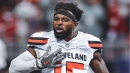 Video: Baker Mayfield finds Jarvis Landry for Browns two-point conversion score
