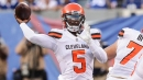 Browns QB Tyrod Taylor ruled out of Jets game with concussion