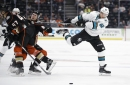 Big games from Donskoi, rookies, lead Sharks past Ducks