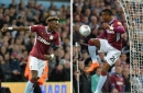 Steve Bruce on Aston Villa playing two up front and the future of the Abraham and Kodjia partnership