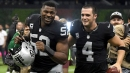 Raiders QB Derek Carr admits it is difficult to watch Khalil Mack play for Bears
