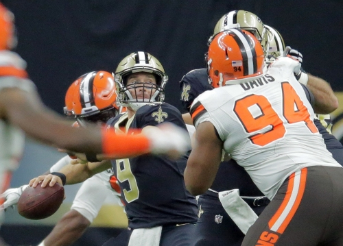 Is Drew Brees becoming more accurate as his career progresses?