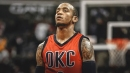 Monta Ellis working out for Thunder