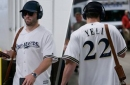 After first NFL win, rookie Mayfield backs Brewers' Yelich for NL MVP
