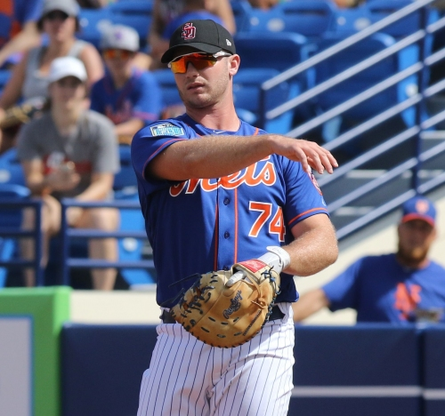 With Mets lacking righty power bats, prospect Peter Alonso could help next season