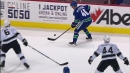 Pettersson through-the-legs pass to help set up Horvat goal