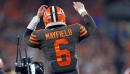 Baker Mayfield had barely played with the Browns starters, so what's next? Doug Lesmerises