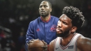 Joel Embiid recalls dunking on new GM Elton Brand 'really bad' when they were teammates