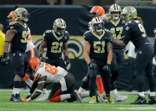 Saints' Tyeler Davison, Manti Te'o ruled out for Falcons game
