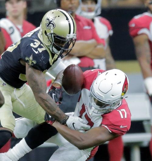 Saints waive cornerback Arthur Maulet, promote linebacker Vince Biegel to active roster