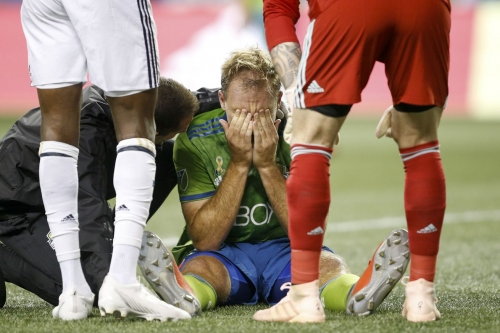 Neither Chad Marshall nor Raúl Ruidíaz appear to have serious injuries