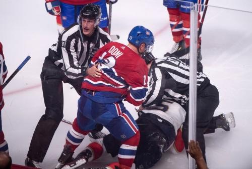 Habs' Domi regrets sucker-punching Aaron Ekblad