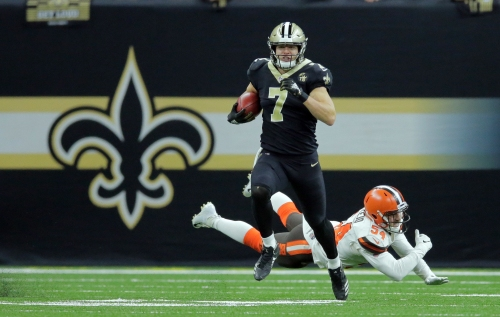 Using Taysom Hill as kick returner 'a no-brainer' for New Orleans Saints