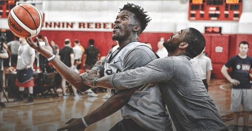 Kyrie Irving says he hasn't spoken to Jimmy Butler at length since 2016
