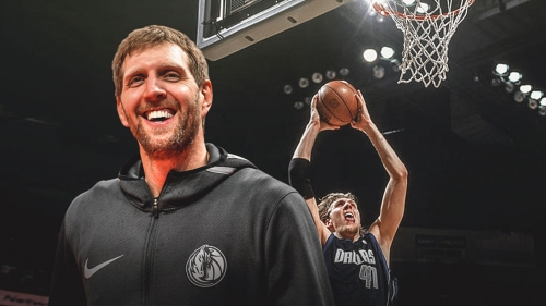 Dirk Nowitzki hopes to win Slam Dunk Contest before calling it a career