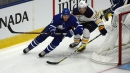 Maple Leafs' Zach Hyman leaves game vs. Sabres with bone bruise