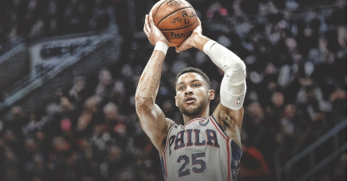 Ben Simmons says he's nowhere close to having consistent jumper