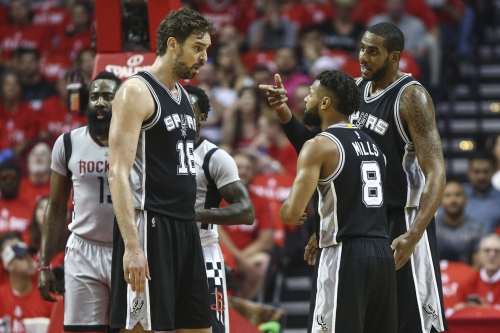 The Spurs may struggle to find a balanced starting lineup