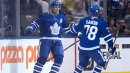 Leafs' John Tavares steals show in hometown debut against Sabres