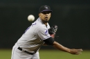 Rockies get strong start from German Marquez to beat D-backs Friday night
