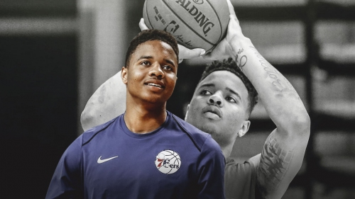 Markelle Fultz happy with progress heading into training camp
