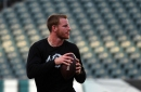 Carson Wentz brings aggression that the Eagles' offense has lacked with Nick Foles